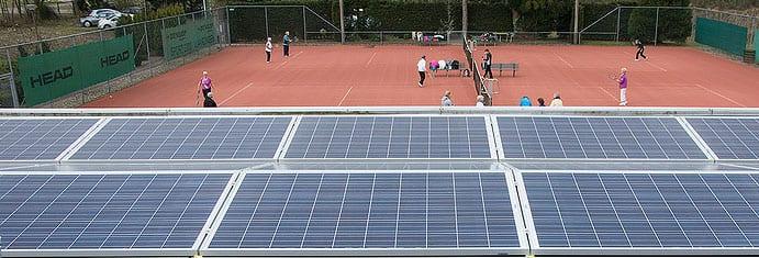 Zonnepanelen tennisvereniging BOSA